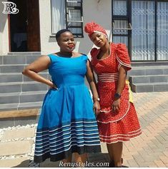 Awesome Collection of Traditional Shweshwe Attire For You, We accept got this alarming accumulating of Traditional Shweshwe Attire African Bridal Dress, African Print Dresses, African Print Fashion, Africa Fashion, African Fashion Dresses, African Dress, African Clothes, African Prints, Sesotho Traditional Dresses