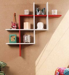 Taylor Wall Shelf Nilkamal by @home Black by @ Home Online - W ...
