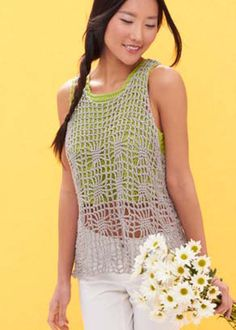 Light Layers Tank in Patons Grace. Discover more Patterns by Patons at LoveCrochet. We stock patterns, yarn, hooks and books from all of your favorite brands.