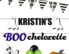 Bachelorette Bachelor Wedding & Birthday parties by Gaypartysupply Halloween Balloons, Halloween Banner, Halloween Decorations, Bachelorette Banner, Bachelorette Party Decorations, Outdoor Halloween, Birthday Parties, Etsy Seller, Indoor