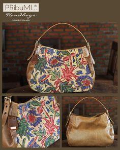 My Dewata Hobo Bag by PRibuMi. Proud with vintage batik.
