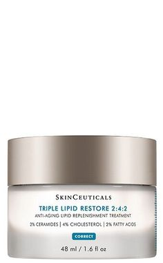 Triple Lipid Restore is an anti-aging cream to improve the appearance of skin smoothness, laxity, pores, and overall radiance while nourishing dry skin. Anti Aging Creme, Creme Anti Age, Best Anti Aging, Anti Aging Skin Care, Homemade Moisturizer, Homemade Skin Care, Cream For Dry Skin, Skin Cream, Eye Cream