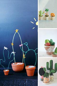 5 cactus DIY