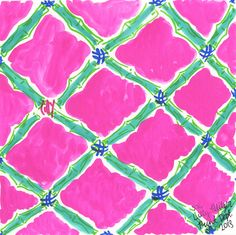 Our Bamboo Lattice #lilly5x5