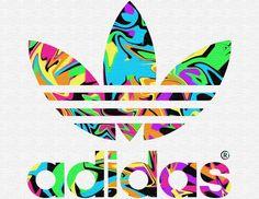 Adidas logo multi (old style)
