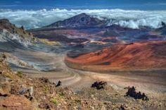 Haleakala Volcano on the island of Maui, Hawaii - Photo Credit: Pierre Leclerc/Getty Images