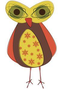 Day 212: Cooky Retro Owl