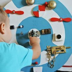 Devote some time and imagination to make wonder happen! Great DIY development toy for babies, toddlers and big kids.