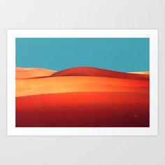 sensual desert  Art Print by Ajinkya Pawar - $20.00