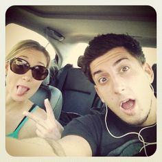 This is Gina and Jesse :) best youtube couple ever! Their amazing! Their chanels are; BfvsGf and PrankvsPrank :) check em out!