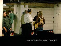 Mark Fisher New York City Photographer: Alone On The Platform • New York Photographer Mark...