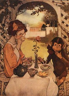 Jessie Willcox Smith | illustration by jessie willcox smith for the now a days fairy book by ...