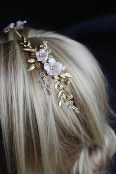 BESPOKE for Justyna_Dita Coco wedding crown headpiece 1