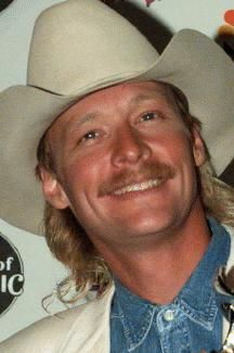 ALAN JACKSON, I met him at Walnut Creek, he was fun to watch practicing for his concert, he is really a funny guy I just loved him
