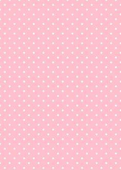 Cicideko - Digital Polka Dot Pink Paper