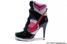 online store 0428b f9d83 Womens Nike Dunk Heels High Black Red White For Wholesale High Heels Hot,  Pink High