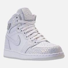 298be2db58a5ab Nike Girls  Grade School Air Jordan Retro 1 High Premium Heiress Collection  (3.5y