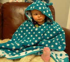 Hooded Towel Poncho Pattern
