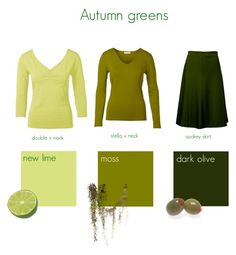 """""""Autumn greens"""" by kettlewellcolours ❤ liked on Polyvore"""