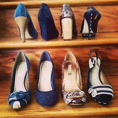 Mais detalhes dos sapatos da #santalolla que chegaram hoje!...