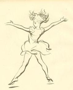 1943 illustration by J.H. Dowd