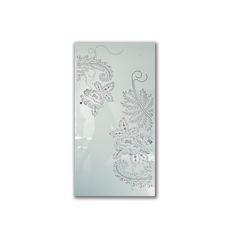 FLOWER E1805   led light art   aluminum color coated   size 1.300 mm x 650 mm