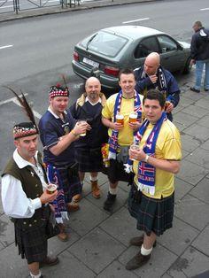 Dueling kilts: Scotland vs Iceland  - wait; Iceland??