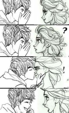 otp // jack & elsa // disney dream couple