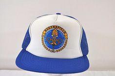 1988 California Police Olympics Bakersfield Trucker Baseball Cap Snapback #Unbranded #BaseballCap