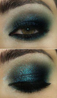 nikki smoke blue eyeshadow only here eyes are a golden hayzel