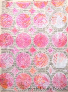 What kind of paint to use (with a Gelli plate)? Cheap craft paint or Golden? Any acrylic paint works!