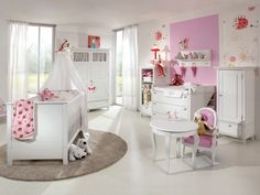decoracion cuarto bebe niña