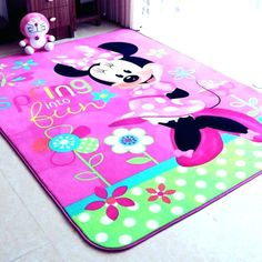 Awesome minnie mouse rugs Illustrations, lovely minnie mouse ...