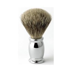 This exquisite hard chrome Edwin Jagger Bulbous shaving brush is filled with han. This exquisite hard chrome Edwin Jagger Bulbous shaving brush is filled with hand tied Silver Tip b Badger Shaving Brush, Shaving Oil, Shaving Cream, Shaving Bumps, Edwin Jagger, Brush Type, Chrome Handles, Diy Hair Accessories