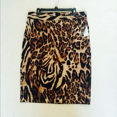New Grace Elements Tiger Skirt New Grace Elements Tiger Skirt size L Grace Elements Skirts