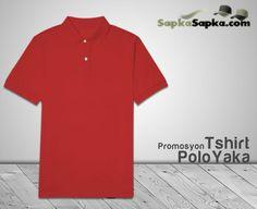Promosyon Polo Yaka T-shirt Kırmızı