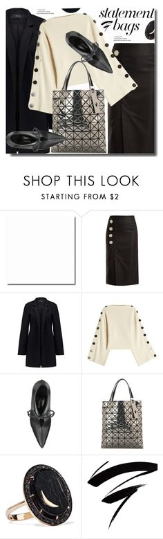 """Statement Bags"" by soks ❤ liked on Polyvore featuring Marques'Almeida, Vero Moda, Petar Petrov, Bao Bao by Issey Miyake, Andrea Fohrman, polyvoreeditorial and statementbags"