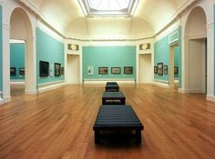 McKay installed the flooring throughout the National Galleries of Scotland.