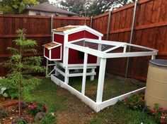 The Condo Guy's Chicken Coop in Dallas, Texas.  Click for more photos, design info and to see baby chicks!