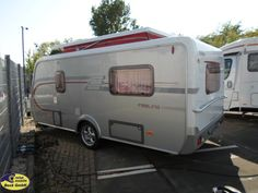 Hymer Eriba Feeling 430 als Pickup-Camper in Köln bei caraworld. Hymer, Caravans, Recreational Vehicles, Feelings, Outdoor Camping, Travel Trailers, Vehicles, Camper, Campers