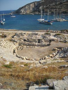 Ancient theatre at Knidos, Turkey | by Dramagirl