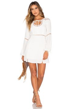 For Love & Lemons x REVOLVE Dress in White