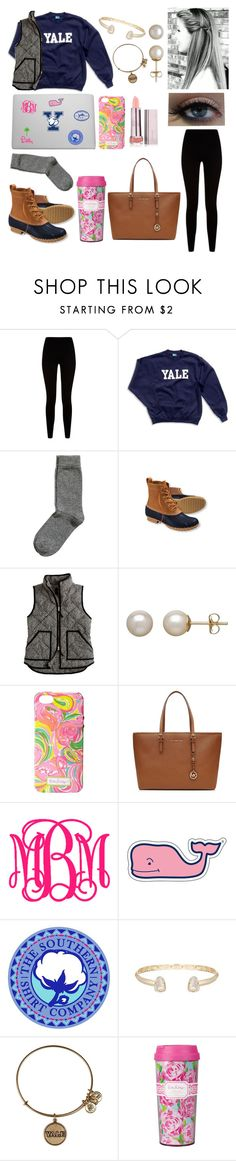 """#fallegeprepcontest"" by lindsay-mccartney ❤ liked on Polyvore featuring Givenchy, H&M, L.L.Bean, J.Crew, Honora, Lilly Pulitzer, MICHAEL Michael Kors, Vineyard Vines, Southern Tide and Kendra Scott"