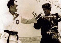 Bruce Lee (Jeet Kune Do) and John Rhee