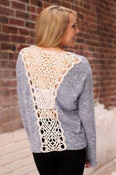 Back Talk Sweater