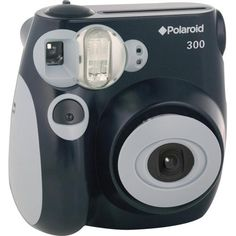 Polaroid - PIC-300B 300 Instant Camera - Larger Front - Something for me to check out.