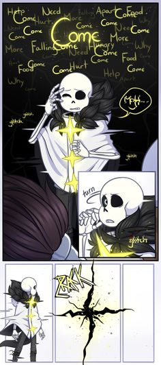 PAPER CRANE ORIGIN 33|Start | < Previous | Next > coming soon | (That page was really fun to color and really important as well to me, I hope you like it !) A lovely thank you to @alainaprana who helped me out with some panel and dialogue advice it... Anime Undertale, Undertale Drawings, Chara, Ema, Sans And Papyrus, Underswap, 3 Arts, To Color, Homestuck