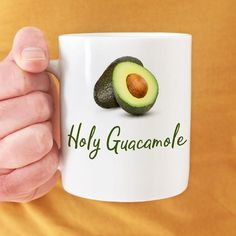 Celebrate #nationalavocadoday with this #funnycoffeemug from our new product line. Special discount pricing today only. Shop link above in bio. -Michele