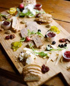 Spring Seasonal Artisan Cheese Board via: PBS Food