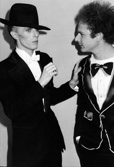 David Bowie and Arthur Garfunkell, Grammy Awards 1975